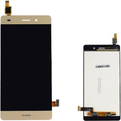 LCD Display Touch Screen per Huawei P8 Lite Oro Gold [ALE-L21]