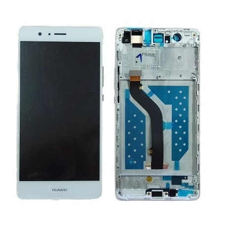 LCD Display Touch Screen + Frame per Huawei P9 LITE Bianco [VNS-L31 VNS-L23]