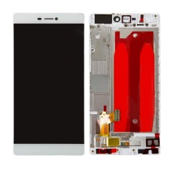 "LCD Display Touch Screen + Frame per Huawei P8 5.2"" Bianco [GRA-L09]"
