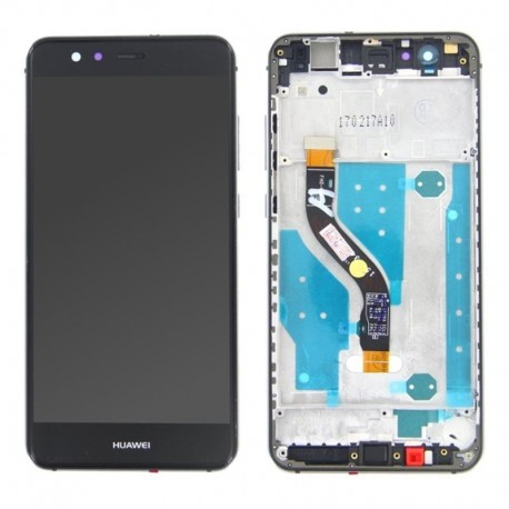 LCD Display Touch Screen con Frame per Huawei P10 LITE Nero