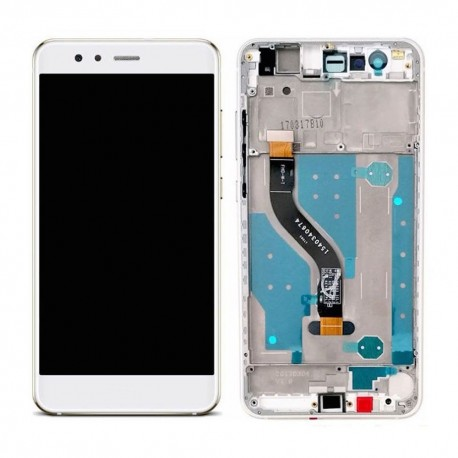 LCD Display Touch Screen con Frame per Huawei P10 LITE Bianco