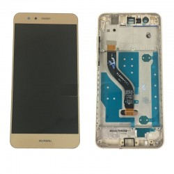 LCD Display Touch Screen con Frame per Huawei P10 LITE Oro Gold