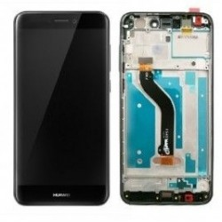 LCD Display Touch Screen con Frame per Huawei P8 LITE 2017 Nero [PRA-LX1]