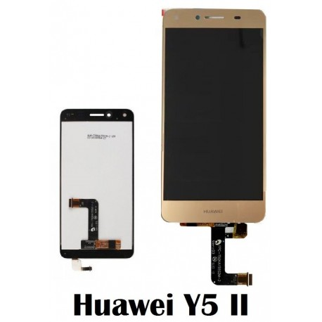 LCD Display Touch Screen per Huawei Y5 II Oro [CAM-L21]