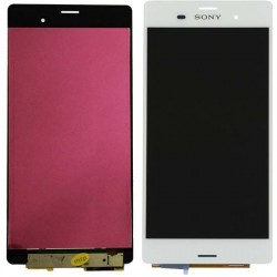 LCD Display Touch Screen per Sony Z3 Bianco White
