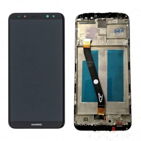 LCD Display Touch Screen + Frame per Huawei Mate 10 Lite Nero [RNE-L21 RNE-L01]