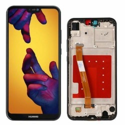 LCD Display Touch Screen + Frame per Huawei P20 Lite Nero [ANE-LX1]