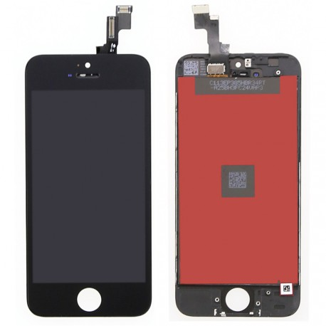 LCD Display Touch Screen per Iphone 5S Nero