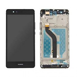 LCD Display Touch Screen con Frame per Huawei P9 LITE Nero [VNS-L31 VNS-L23]